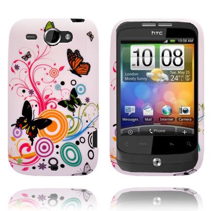 Symphony (Blandade Fjärilar) HTC Wildfire G8 Skal