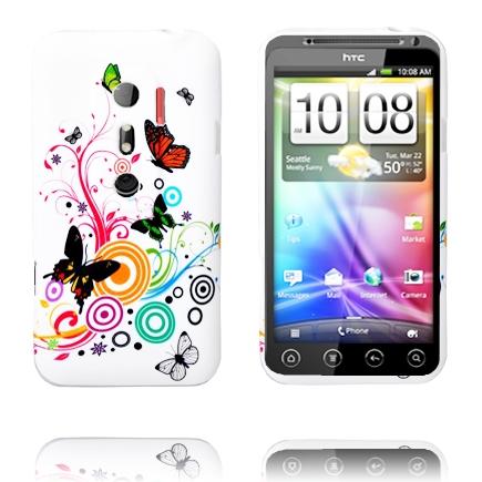 Symphony (Blandade Fjärilar) HTC Evo 3D Skal