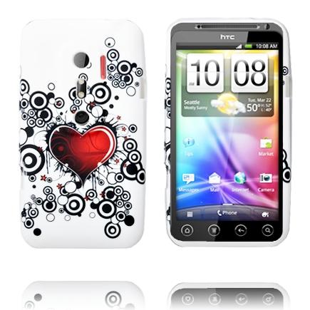 Symphony (Ett Rött Hjärta) HTC Evo 3D Skal