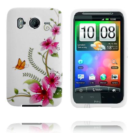 Symphony (Rosa Blomma) HTC Desire HD Skal