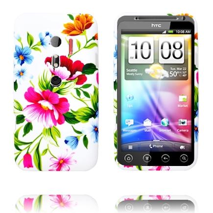 Symphony (Två Rosa Blommor) HTC Evo 3D Skal