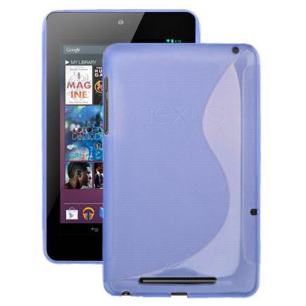 S-Line Transparent (Blå) ASUS Google Nexus 7 Skal