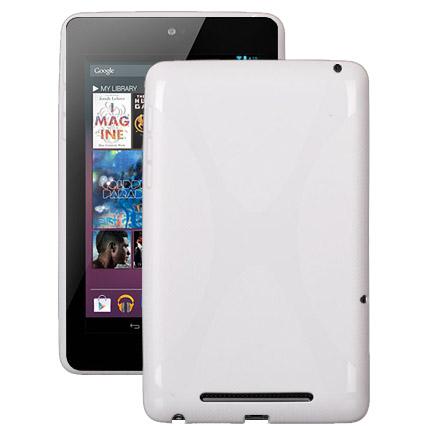 X Fighter Solid (Vit) ASUS Google Nexus 7 Skal