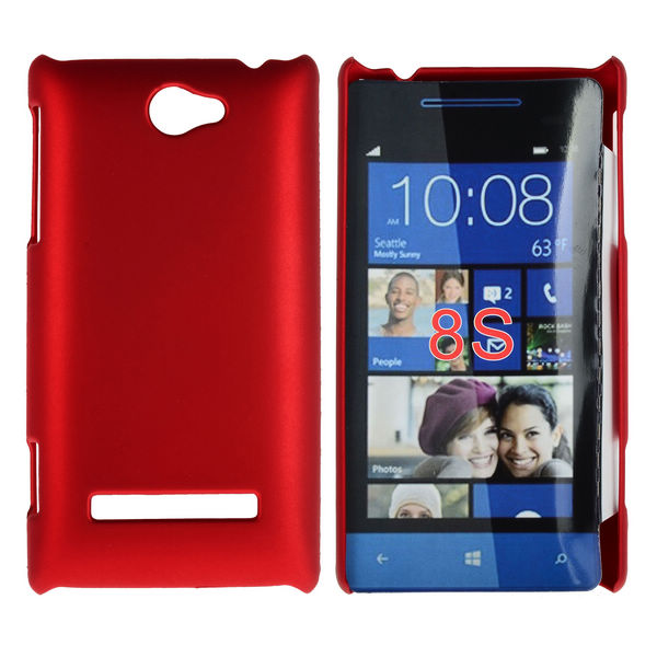 Hårdskal (Röd) HTC 8S Skal