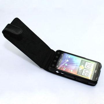 HTC Evo 3D Läderfodral (Svart)