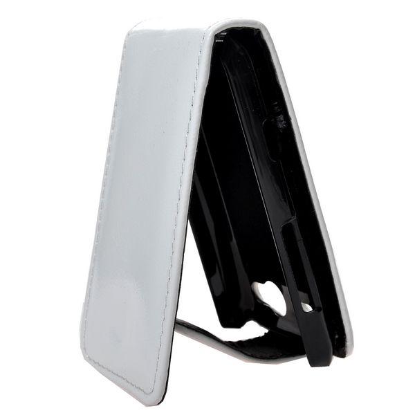 HTC Salsa Läderfodral (Vit)