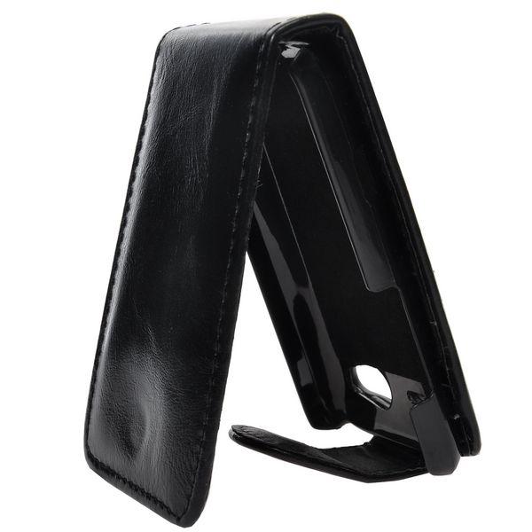 HTC Salsa Läderfodral (Svart)