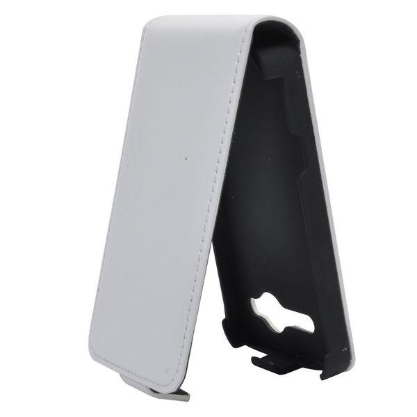 Rugged HTC Salsa Läderfodral (Vit)