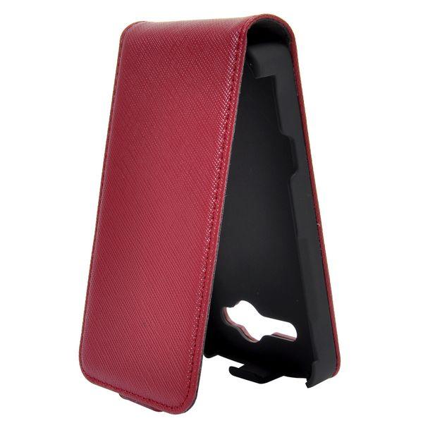 Rugged HTC Salsa Läderfodral (Röd)