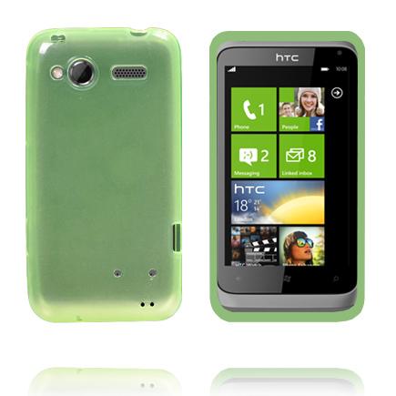 TPU Shell Transparent (Grön) HTC Radar Skal