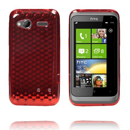 Cubes (Röd) HTC Radar Skal