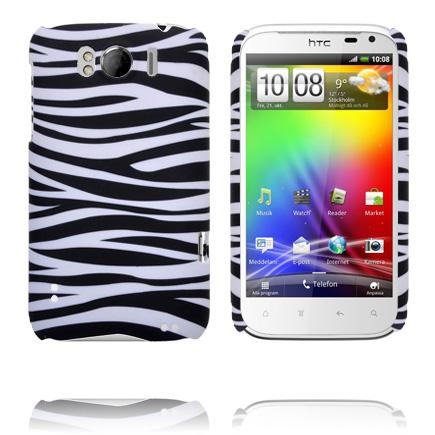 Safari Fashion (Horizontell Zebra) HTC Sensation XL Skal