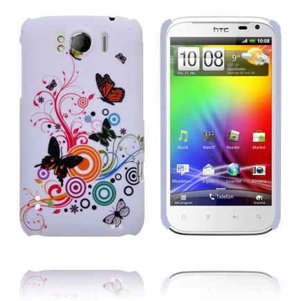 Valentine (Blandade Cirklar & Fjärilar) HTC Sensation XL Skal