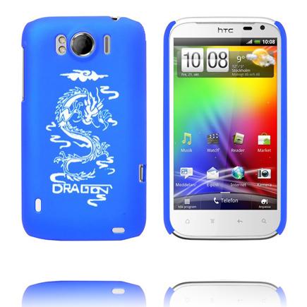 White Dragon (Blå) HTC Sensation XL Skal