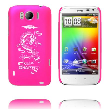White Dragon (Het Rosa) HTC Sensation XL Skal