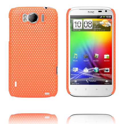 Atomic (Orange) HTC Sensation XL Skal