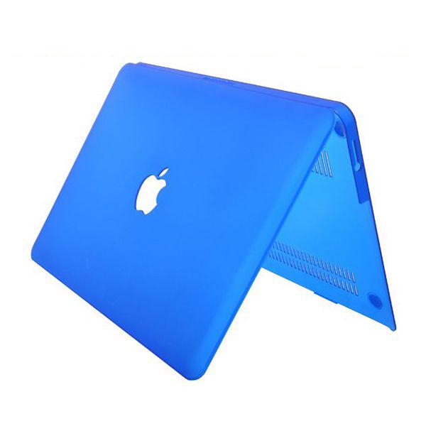 Hårdskal Transparent (Blå) Skyddsskal för Macbook Air 13.3″