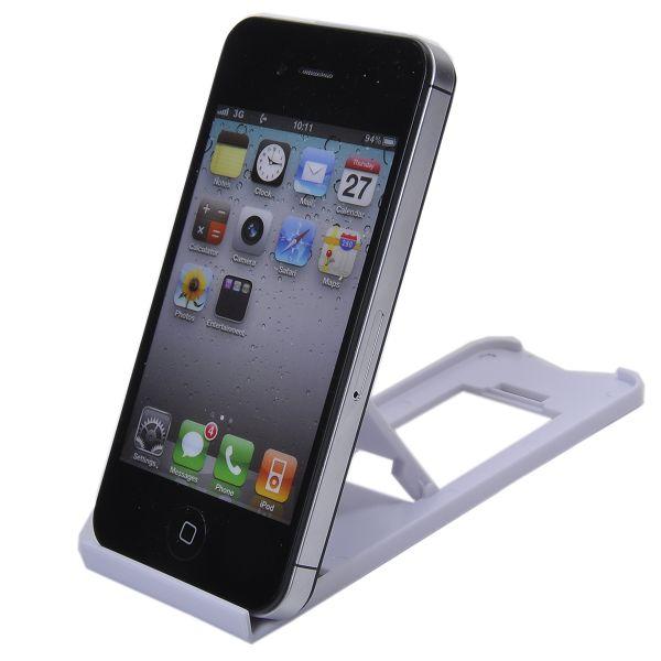Universell Smartphone/Tablet Stativ (Vit)