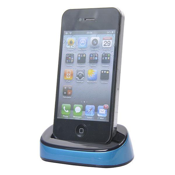 Color iPhone 4 Dock (Blå)