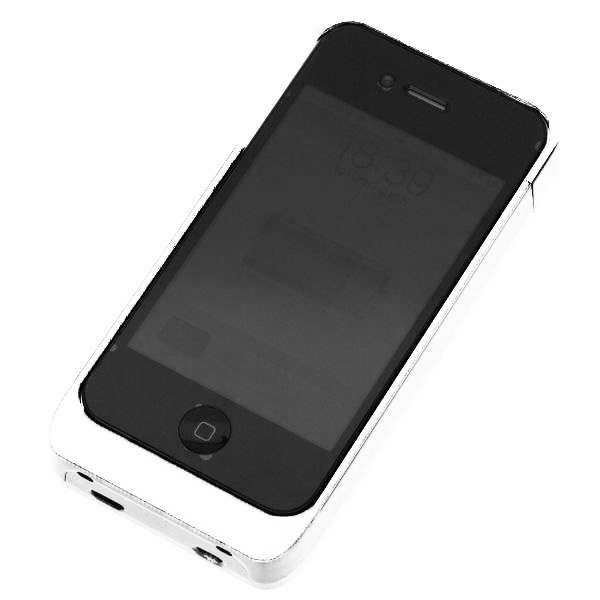 Juice Pack – iPhone 4 Skal – Portabel Laddare (Vit)