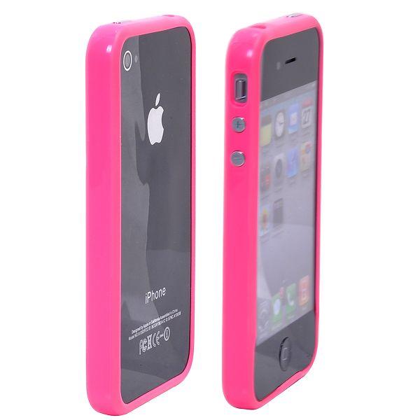 Candy Color (Het Rosa) iPhone 4S Bumper