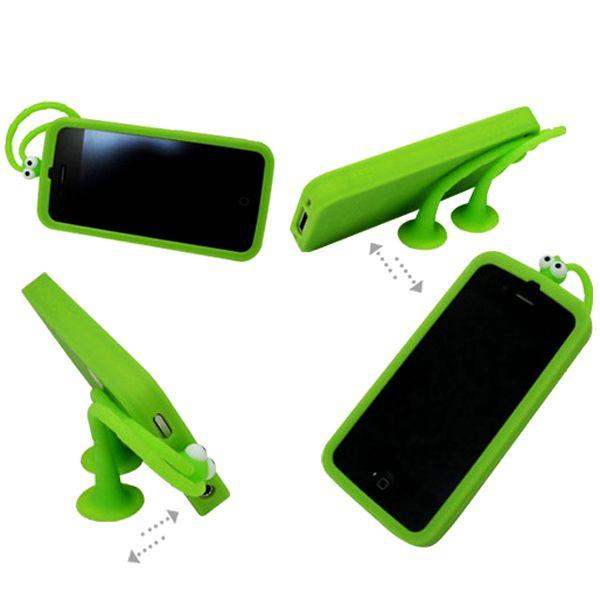GoGo – Självlysande (Grön) iPhone 4S Silikonskal