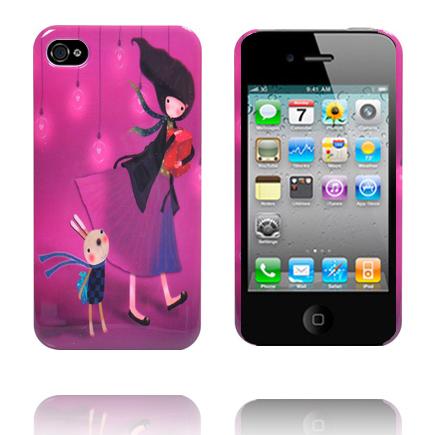 Cute Sketch (Moder & Barn) iPhone 4S Skal