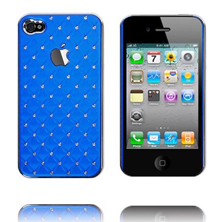 Vegas Diamonds – Kromkant (Blå) iPhone 4S Skal