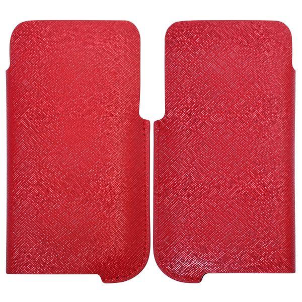 iCurve iPhone 4S Läderpåse (Röd)