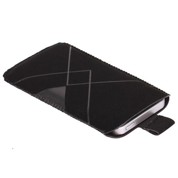 Triumph iPhone 5/5S Läderfodral / Mobilpåse (Svart)