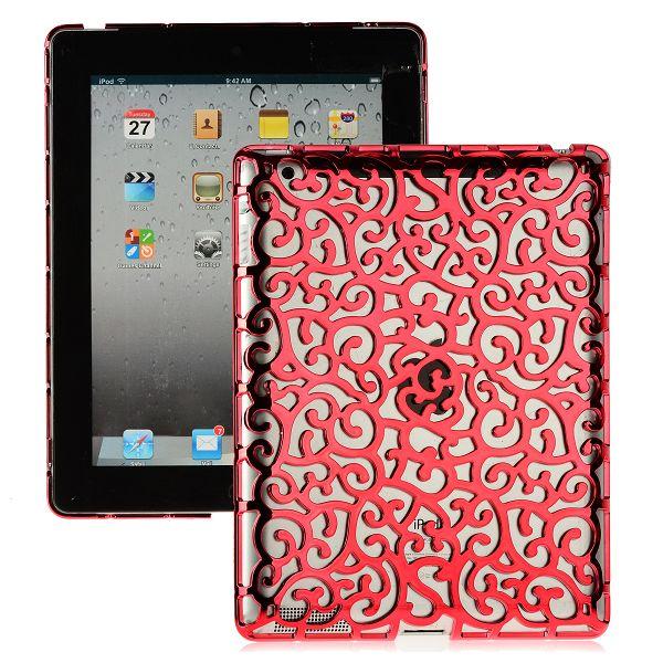 Rose Lines (Röd) iPad 3 Skal