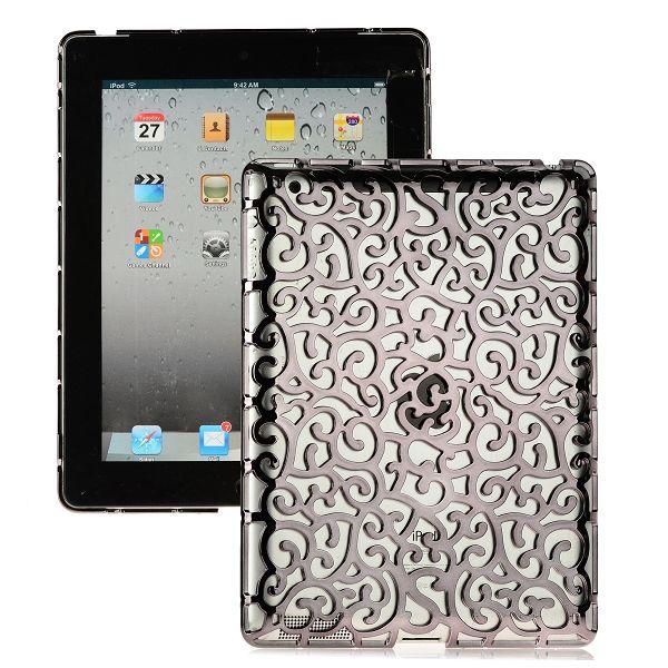 Rose Lines (Svart) iPad 3 Skal