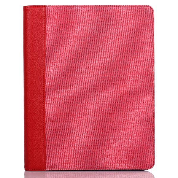 DenimCase för din iPad 3/iPad4 (Röd) Utfällbart Stativ