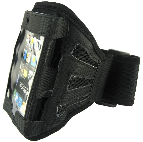 Löparmband för SmartPhones (Svart)