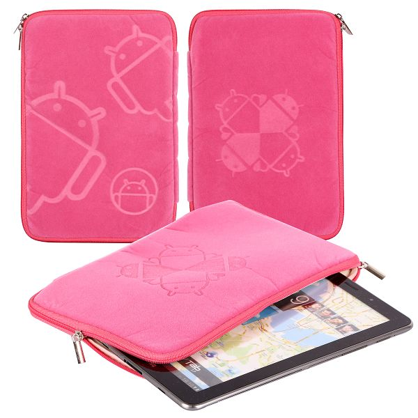 ANDROID Samsung Galaxy Tab 7.7 Påse (Rosa)