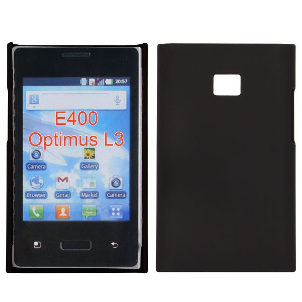 Hårdskal (Svart) LG Optimus L3 E400 Skal