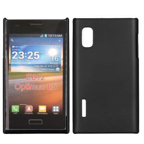 Hårdskal (Svart) LG Optimus L5 E610 Skal