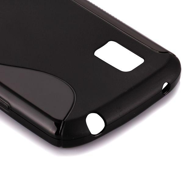 S-Line Solid (Svart) LG Google Nexus 4 Skal