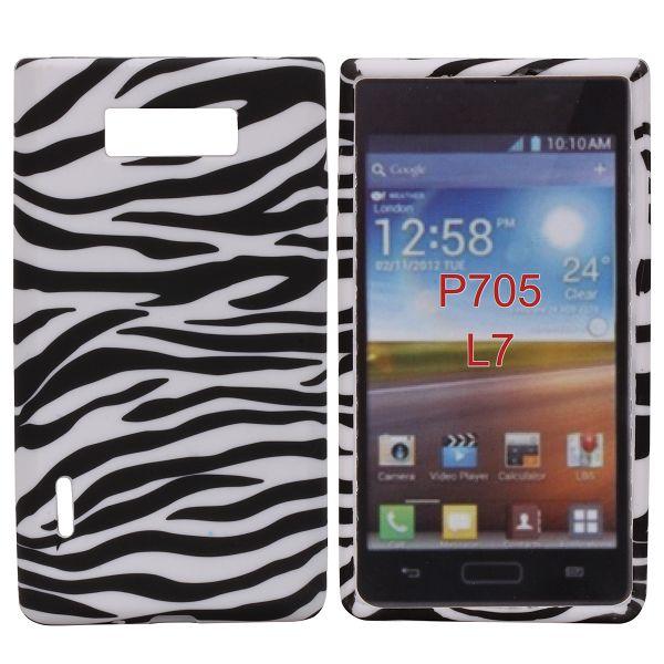 Safari (Horizontell Zebra) LG Optimus L7 Skal