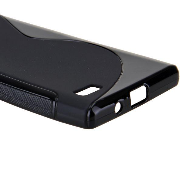 S-Line Solid (Svart) LG Optimus L9 Skal