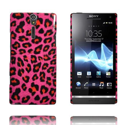 Safari Fashion (Het Rosa Leopard) Sony Xperia S Skal