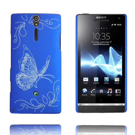 Joy (Blå) Sony Xperia S Skal