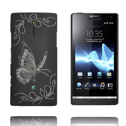 Joy (Svart) Sony Xperia S Skal