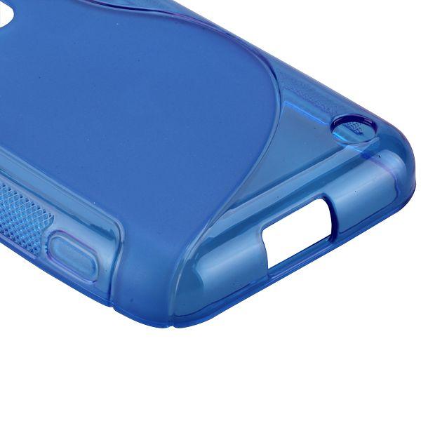 S-Line Transparent (Blå) Nokia Lumia 620 Skal