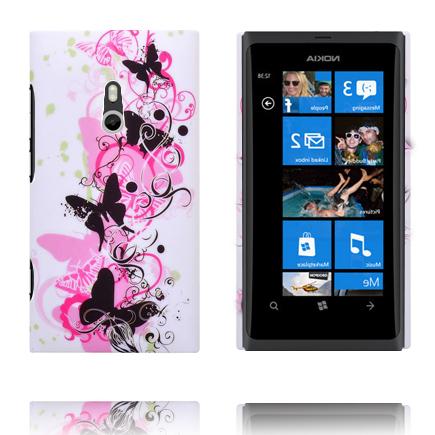 Valentine (Svart Fjäril) Nokia Lumia 800 Skal