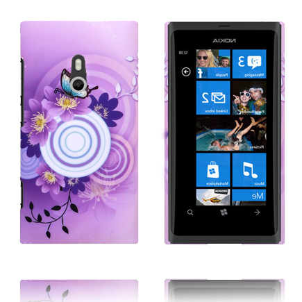 Valentine (Lila Sky – Vit Cirkel) Nokia Lumia 800 Skal