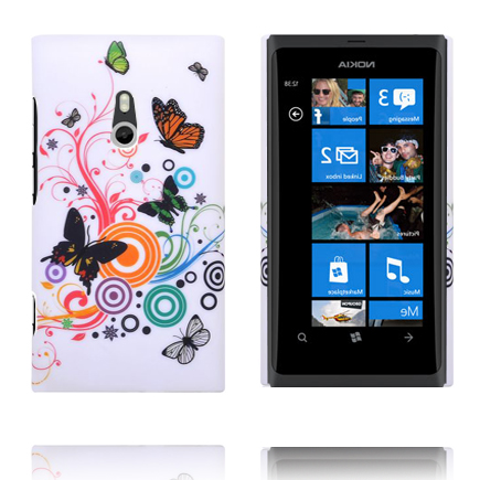 Valentine (Blandade Cirklar & Fjärilar) Nokia Lumia 800 Skal