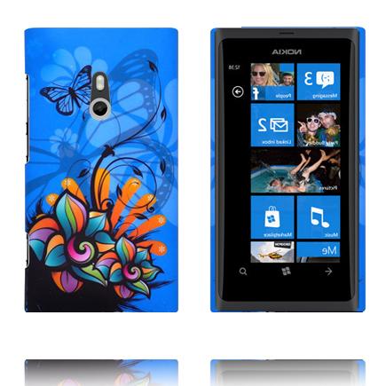 Valentine (Blå Himmel – Art Blomma) Nokia Lumia 800 Skal