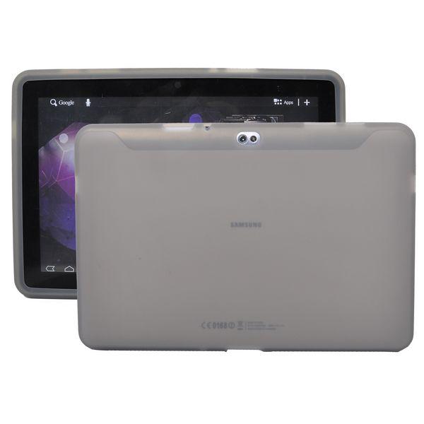 Mjukskal Transparent (Grå) Samsung Galaxy Tab 10.1 Skal (P7500)