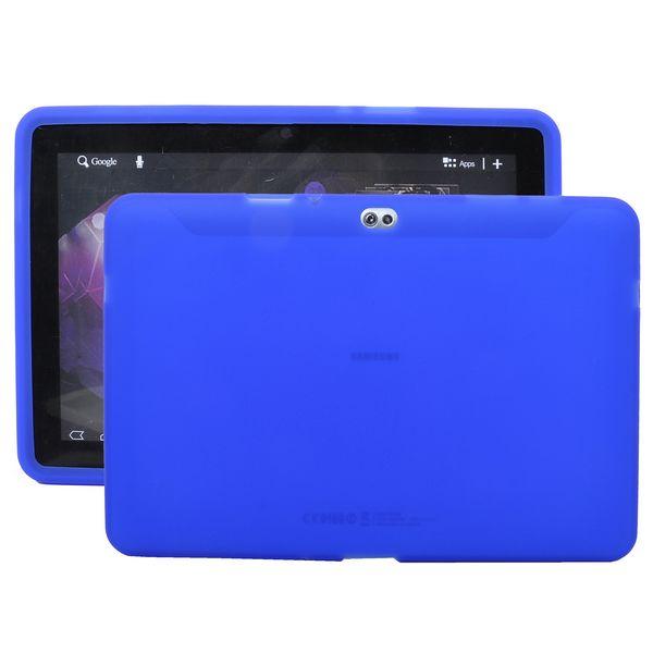 Mjukskal Transparent (Blå) Samsung Galaxy Tab 10.1 Skal (P7500)